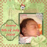 Janna, born on the 8th of july