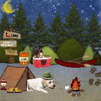 Cooper's adventure - going camping
