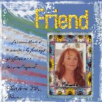Claudia; my Friend