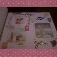 My 1st Paper Scrapbook page