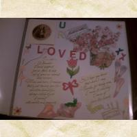 My 3rd Paper Scrapbook Page