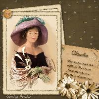 Carissima Claudia...