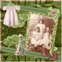 Three Vintage Rosebuds