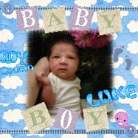 my baby cousin