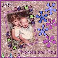Narelle and Paul 1980