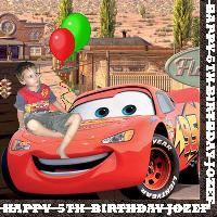 Jozef and Lightning McQueen