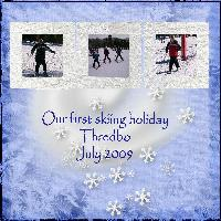 Our First Ski Holiday
