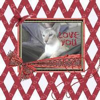White background, red ribbon challenge