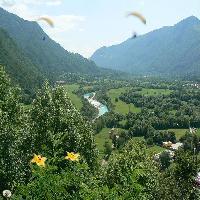 De river Soça (Slovenia)