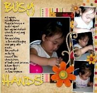 BUSY HANDS OF LEXI