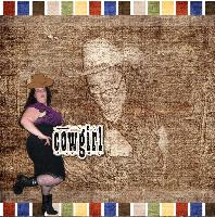 Wanted Cowgirl - Leanne