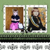Nowee and Daddy age 3