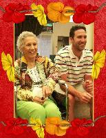 Mom and Grandson Bobbi July 2009