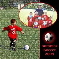 Blake's Soccer Team