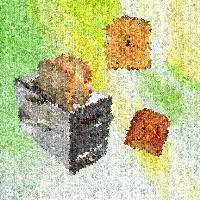 Abstract toaster