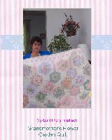 Peach Flower Quilt