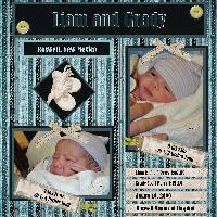 Liam and Grady  Twin Nephews