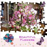 Jigsaw Flowers
