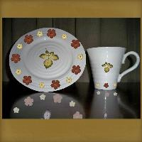 Cup and Saucer for Challenge