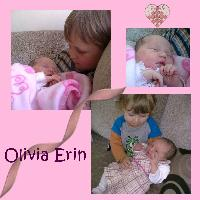 Welcome Olivia Erin