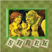 Shrek! My favorite cartoon character!