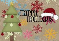 my holiday card