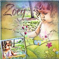 Zoey in the garden
