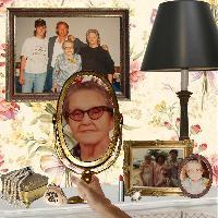 Grandma's Dressing Table