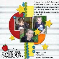 Jesse/First day of school