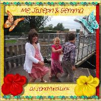 Me, Joseph & Gemma at Sandford Lock