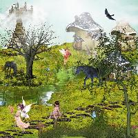 Fairy Tale made with paint.net program