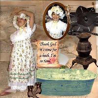 Bath Time Vintage
