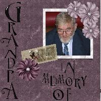 IM MEMORY OF GRANDPA