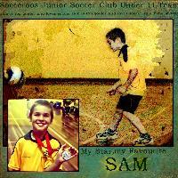 My Favourite Football Player Sam