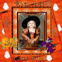 Piper, Cute Little Witch
