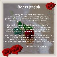 My poem, Heartbreak.