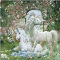 Fantasy Unicorn Love