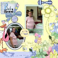 baby shower Mikey