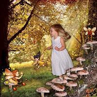 Frolicking Fall Fairies