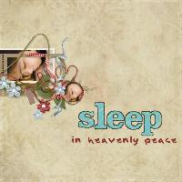 sleep in heavenly pece
