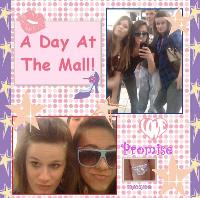 Teens At The Mall