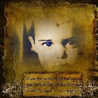 A child's eyes....
