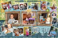 Liams 1. Birthday