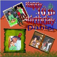 Happy 10th Birthday Daniel