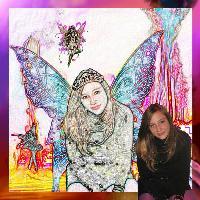 Portrait of a Fairy Queen