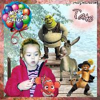 Happy Birthday Tate