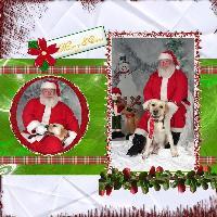 traditional Christmas page