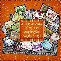 My 2009 Scrapbookflair Year In Review
