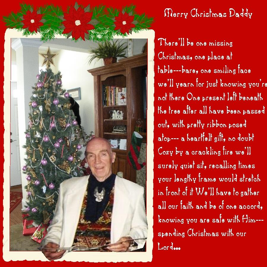 Missing Dad At Christmas.Missing You At Christmas Dad Digital Scrapbooking At