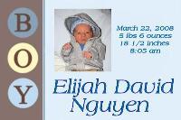 eli is born